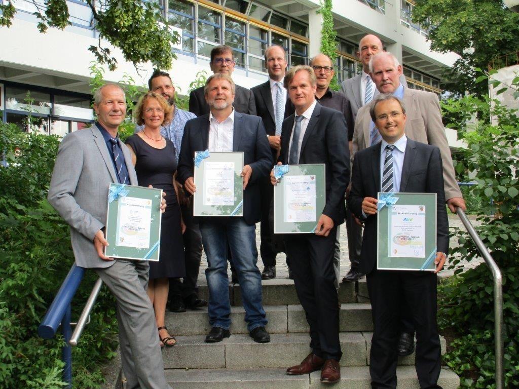 BWA Aichach Auszeichnungen Ökoprofit Energie